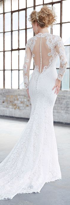 Lace Wedding Dress by Madison James 2017 | @allurebridals