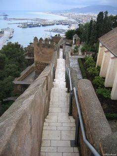 Castillo de Gibralfaro. Malaga, Spain