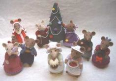 I love these mice. Already knitted 4 of them. Thank you - Alan Dart.