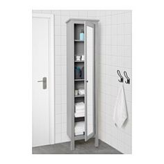You can move the shelves and adjust the spacing according to your personal needs. The mirror comes with safety film on the back, which reduces the risk of injury if the glass is broken.