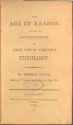 This book speaks the truth. At least my truth. Thomas Paine Books, President Quotes, Rationalism, Library Ladder, Books Everyone Should Read, All Souls, Mystery Of History, Lus, Speak The Truth