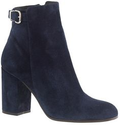 J.Crew Barrett suede ankle boots on shopstyle.com
