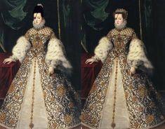 reina Ana de Austria 1571