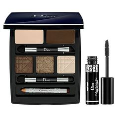 Dior Celebration Collection Eye Palette. You can achieve both subtle natural or sexy smokey brown looks with this palette.
