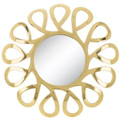 9004e87d415d This beautiful wall mirror will make a statement in any room. This piece  will work perfectly as an accent mirror to add style to any room.