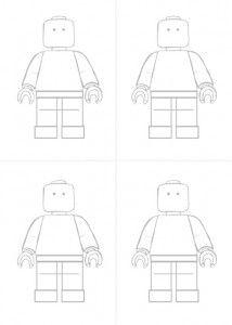make your own lego man printable