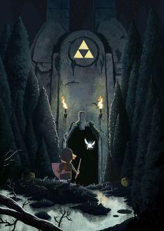 Legend of Zelda Nicolas walks...
