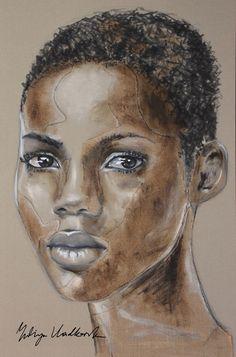 """Saatchi Art Artist: Yuliya Vladkovska; Acrylic 2013 Painting """"no regrets"""""""