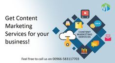 Content Marketing focuses on creating, publishing and distributing content for a targeted online audience. Our team of experts offer content marketing services that helps your business in generating sales. Feel free to call us on to get more details. Content Marketing, Digital Marketing, Business Branding, Seo, How To Get, Social Media, Feelings, Inbound Marketing