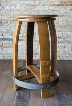 Wine Barrel Bar Stools, Wine Crate Table, Wine Barrel Coffee Table, Whiskey Barrel Furniture, Red Bar Stools, Barrel Table, Barrel Chair, Counter Stools, Wine Barrels