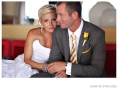 Stella & Dot Petra earrings and bracelet in action at Cancun Wedding : Adam + Laura