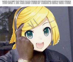 Vocaloid Funny, Rolling Girl, Vocaloid Characters, Kagamine Rin And Len, Otaku, Video Game Memes, Heavy Metal Music, Shadow The Hedgehog, Hatsune Miku
