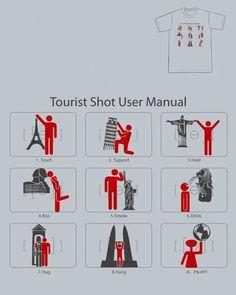 Tourist shot user manual