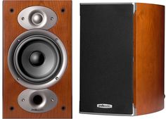 Potent bookshelf speakers      Treat yourself to detailed, accurate sound with Polk's compact RTi A1 bookshelf speakers. They feature Polk's exclusive Dynamic Balance drivers for smooth