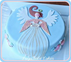 Serene Angel by Kathy (SugaBabe Cakes), via Flickr