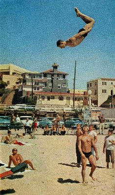 muscle beach / santa monica / 1962