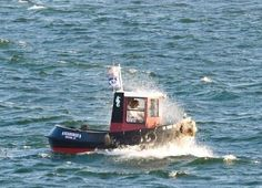 Mini Tug Boats for Sale Tug Boats For Sale, Yatch Boat, Kids Boat, Boating Holidays, Boat Projects, Boat Design, Small Boats, Power Boats, Boat Plans