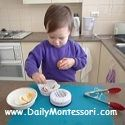 Montessori at 0 to 6-month-olds, the Absorbent Mind, 'Toys' and Materials, and Baby Clothing {Daily Montessori}