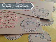 Silhouette School: Making Custom Silhouette Stickers 101