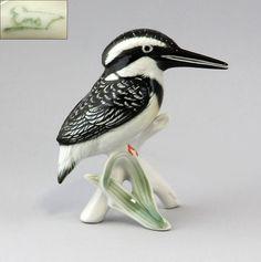 41066 Ens Vogel Figur Sumpf-Eisvogel Thüringen