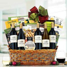 Wine Gift Baskets - Cliffside Wine Gift Basket