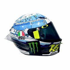 AGV Pista GP R Winter Test 2017 Rossi Helmet - Limited Edition