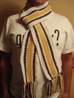 Pittsburgh Steelers (or Iowa Hawkeyes) scarves | My ...