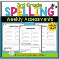 3rd Grade Spelling T