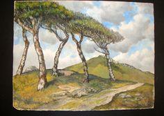 Original Watercolour West of Ireland Landscape Irish Artist Ireland Landscape, Landscape Art, Irish Art, Watercolour, 1970s, The Originals, World, Artist, Painting