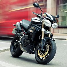 motorcycles-and-more: Triumph Speed Triple Triumph Motorbikes, Triumph Motorcycles, Cars And Motorcycles, Triumph Speed Triple, Motorcycle Helmets, Motorcycle Parts, Biker Love, Touring Bike, Hot Bikes