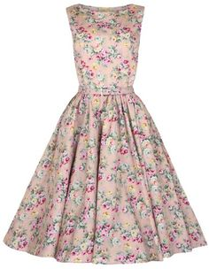 Bridal Shower Dress:  Lindy Bop Classy Vintage Audrey Hepburn Style 1950's Rockabilly Swing Evening Dress (S, Peach). The look I'll go for if we go with the 50's housewife theme for bridal shower