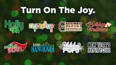 Siriusxm 2018 Holiday Music Lineup 16 Commercial Free Channels With