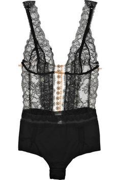 La Perla icon lace bodysuit