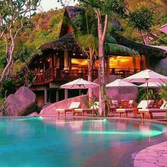 Tropical house, Bali