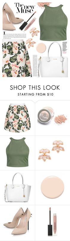 """""""Lundi"""" by anilia ❤ liked on Polyvore featuring Boohoo, Kate Spade, Michael Kors, Christian Dior, Casadei and Burberry"""