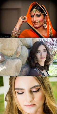 TM's Makeup Artistry is the business you need to remember if you want high quality makeup and hairstyles for weddings. They are adept at air brushing. Open pin to read 5 reviews for this wedding hair and makeup artist.