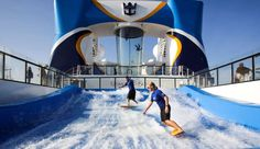 People use the FloRider - Matt Cardy/Getty Images #Quantum of the Seas