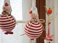 Angioletti di Natale fai da te  | Angioletto di Natale per l'albero | FOTO