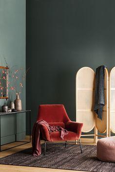 Цветотерапия: успокаивающие оттенки новой коллекции интерьерных красок Haymes | Пуфик - блог о дизайне интерьера