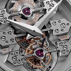 Tourbillon with three gold bridges #Girard Perregaux #Horology #Watch #Watches #Luxury #Timepiece #Masterpiece #art #horology #haute horlogerie