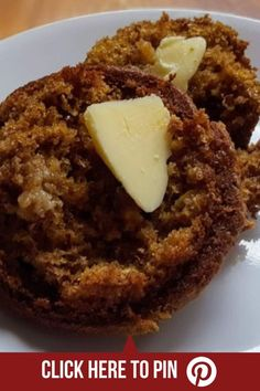 Janet's Yogurt Bran Muffins are light, moist, full of flavor, and quick to make. Healthy and delicious, they will be a new favourite. Date Muffins, Bran Muffins, Breakfast Muffins, Healthy Muffin Recipes, Healthy Muffins, Healthy Snacks, Eat Healthy, Baking Recipes, Cake Recipes