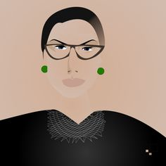 "The Washington Post did a special tribute to Ruth Ginsburg this weekend to commemorate her life.  ""Ruth Ginsburg in Art and Words"" We were honoured to be The Washington Post, Illustrators, Anna, Words, Life, Illustrations, Horse"