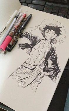 Estilo Anime, One Piece Fanart, Anime One Piece, One Piece Luffy, Manga Anime, Anime Mangas, Monkey D Luffy, Community Service, Naruto