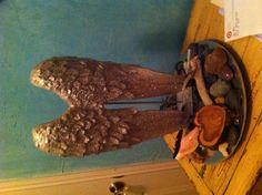 Pretty DIY angel wings