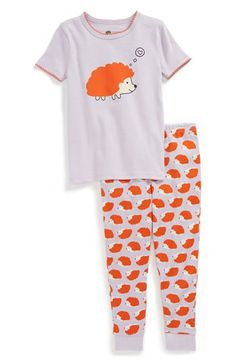 Tucker + Tate Two-Piece Fitted Pajamas (Toddler Girls)   Nordstrom