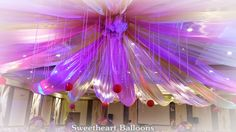 Balloon Ceiling, Ceiling Lights, Sleepless Nights, Save Yourself, Globe, Balloons, Wedding Decorations, Sun, Party
