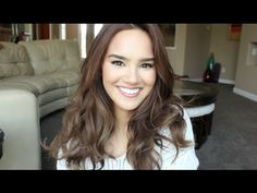 Victorias Secret Hair Tutorial (With Velcro Rollers) - YouTube