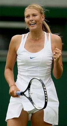 I love girl tennis and whites