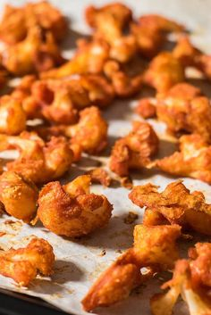 Skinny, spicy and scrumptious cauliflower wings. Perfect vegetarian alternative to hot wings.