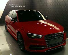 Audi S3 sedan. Beautiful and so sporty